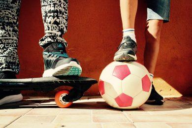 deska i piłka